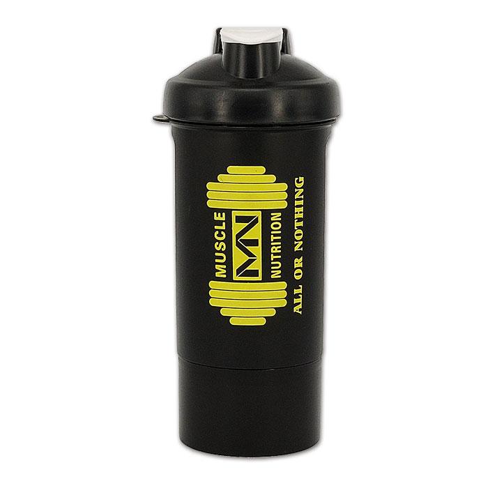 600ml Pill Compartment Shaker Bottle Logo Printing