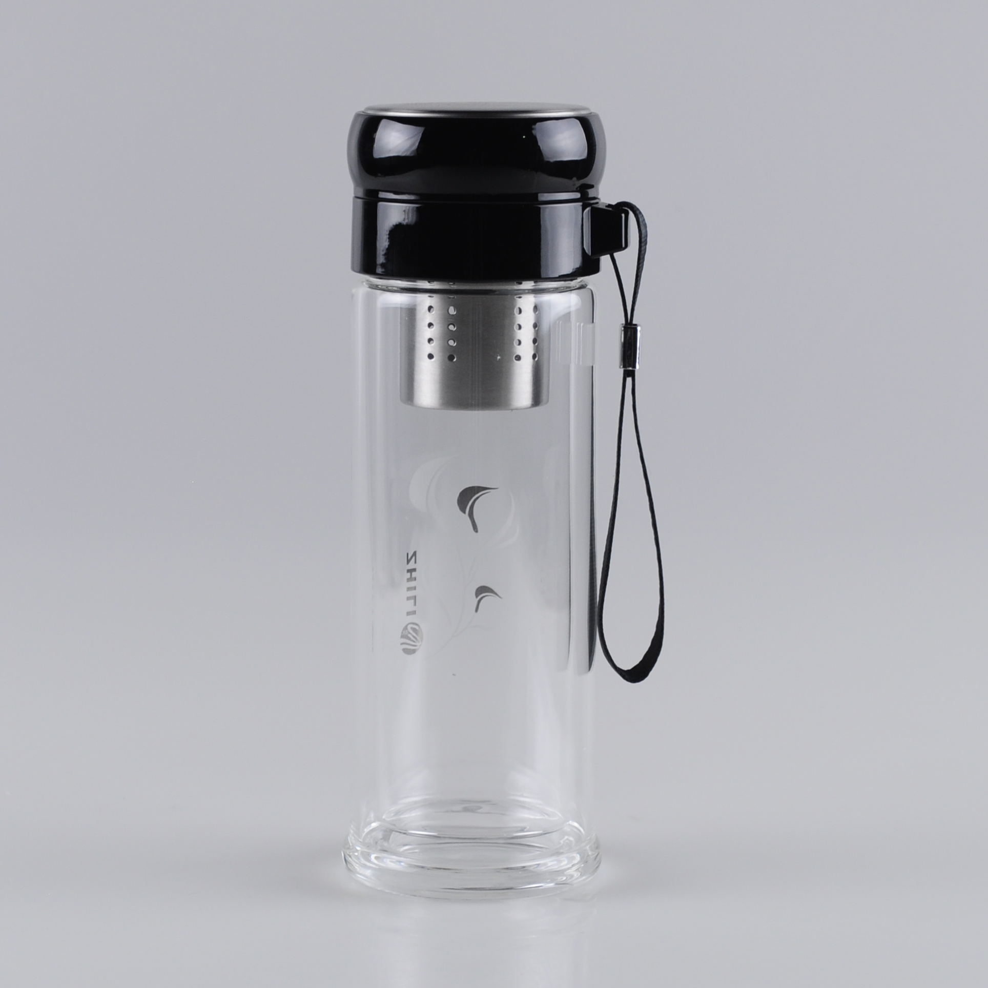 300ml-carrying-strap-double-wall-glass-cup-with-tea-strainer (1)